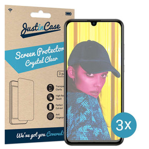 Just in Case Screen Protector Huawei P Smart 2019 (3 pack)