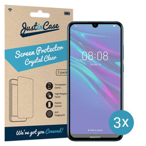 Just in Case Screen Protector Huawei Y6 2019 (3 pack)