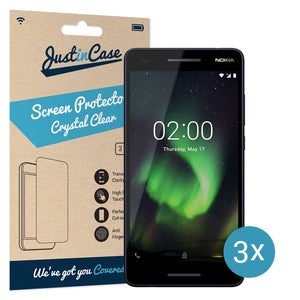 Just in Case Screen Protector Nokia 2.1 (3 pack)