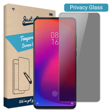 Load image into Gallery viewer, Just in Case Privacy Tempered Glass Xiaomi Mi 9T