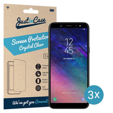 Load image into Gallery viewer, Just in Case Screen Protector Samsung Galaxy A6 (2018) (3 pack)