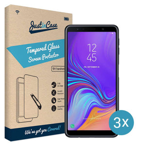 Just in Case Screen Protector Samsung Galaxy A7 2018 (3 pack)