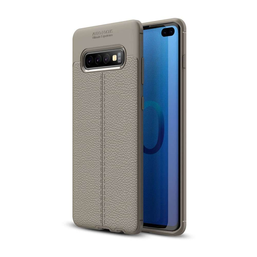 Just in Case Soft Design TPU Samsung Galaxy S10 Plus Case (Grey)
