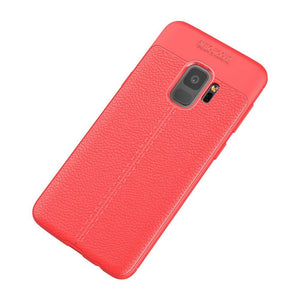 Just in Case Soft Design TPU Samsung Galaxy S9 Case (Red)