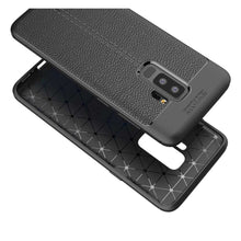 Load image into Gallery viewer, Just in Case Soft Design TPU Samsung Galaxy S9 Plus Case (Black)
