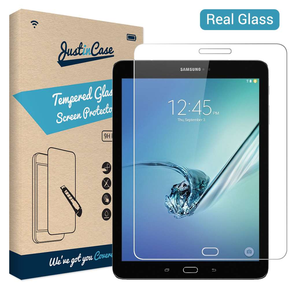 Just in Case Samsung galaxy Tab S3 9.7 Tempered Glass