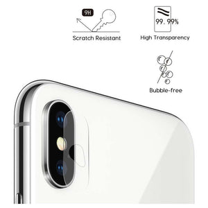 Just in Case Tempered Glass Apple iPhone X / XS Camera Lens - 2 Pcs