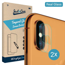 Load image into Gallery viewer, Just in Case Tempered Glass Apple iPhone XS Max Camera Lens - 2 Pcs