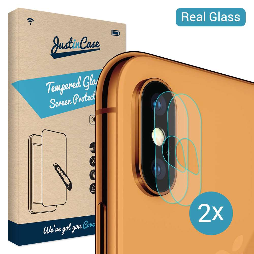 Just in Case Tempered Glass Apple iPhone XS Max Camera Lens - 2 Pcs