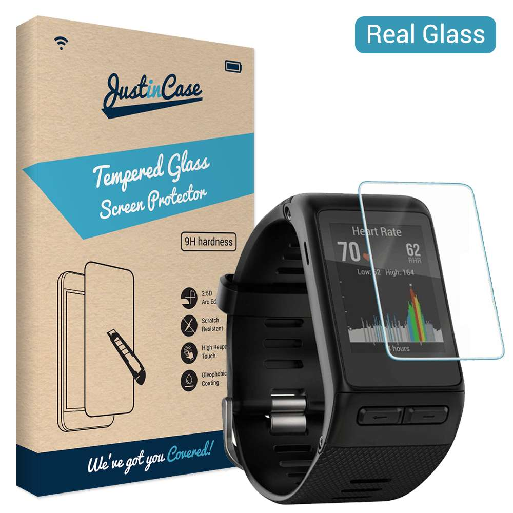 Just in Case Tempered Glass Garmin Vivoactive HR