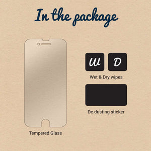 Just in Case Tempered Glass Huawei P10 Lite