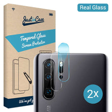 Load image into Gallery viewer, Just in Case Tempered Glass Huawei P30 Pro Camera Lens 2 stuks