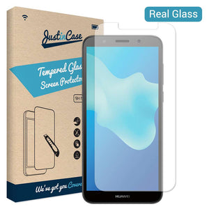 Just in Case Tempered Glass Huawei Y5 2018