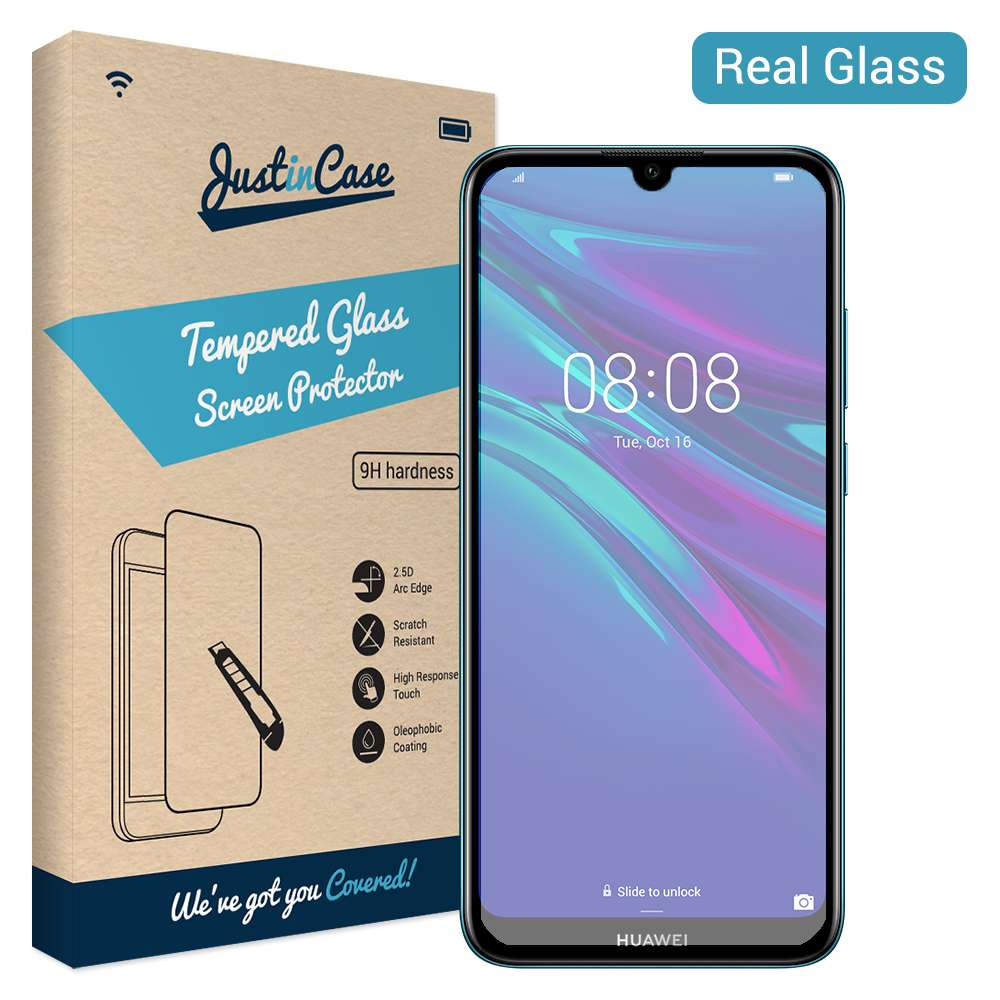Just in Case Tempered Glass Huawei Y6 2019