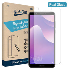 Load image into Gallery viewer, Just in Case Tempered Glass Huawei Y7 (2018)