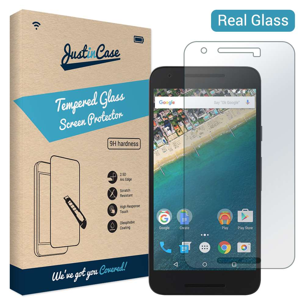Just in Case Tempered Glass LG Nexus 5X