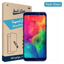 Load image into Gallery viewer, Just in Case Tempered Glass LG Q7