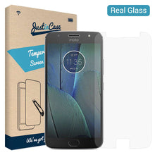 Load image into Gallery viewer, Just in Case Tempered Glass Motorola Moto G5S