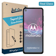 Load image into Gallery viewer, Just in Case Tempered Glass Motorola One Action