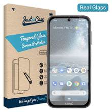 Load image into Gallery viewer, Just in Case Tempered Glass Nokia 4.2