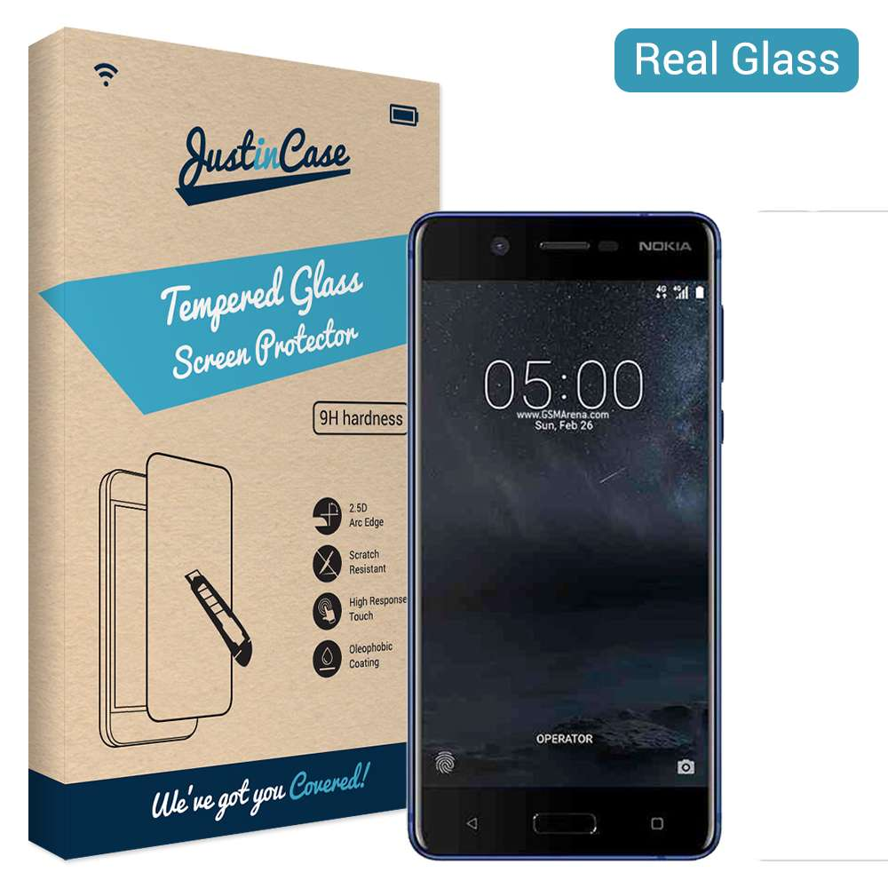 Just in Case Tempered Glass Nokia 5