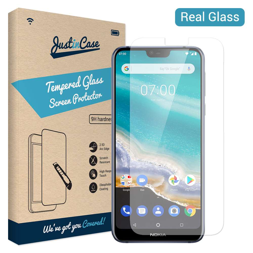 Just in Case Tempered Glass Nokia 7.1