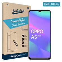 Load image into Gallery viewer, Just in Case Tempered Glass Oppo A5 2020