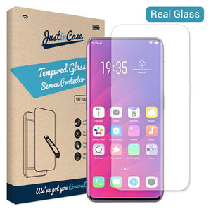 Just in Case Tempered Glass Oppo Find X