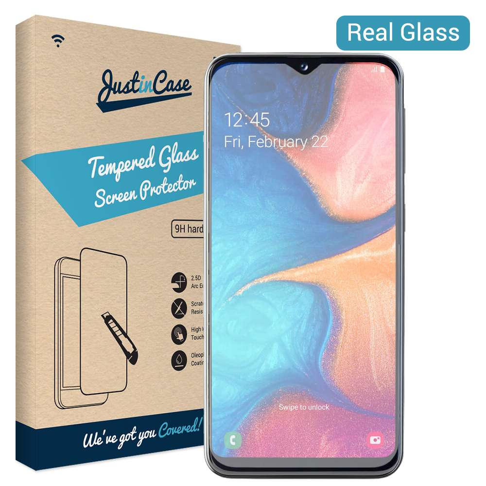 Just in Case Tempered Glass Samsung Galaxy A20e
