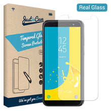 Load image into Gallery viewer, Just in Case Tempered Glass Samsung Galaxy J6