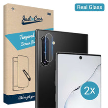 Load image into Gallery viewer, Just in Case Tempered Glass Samsung Galaxy Note 10 Plus Camera Lens 2 stuks