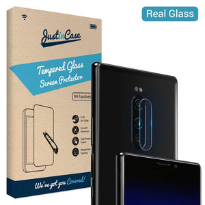 Just in Case Tempered Glass Sony Xperia 1 Camera Lens - 2 Pcs