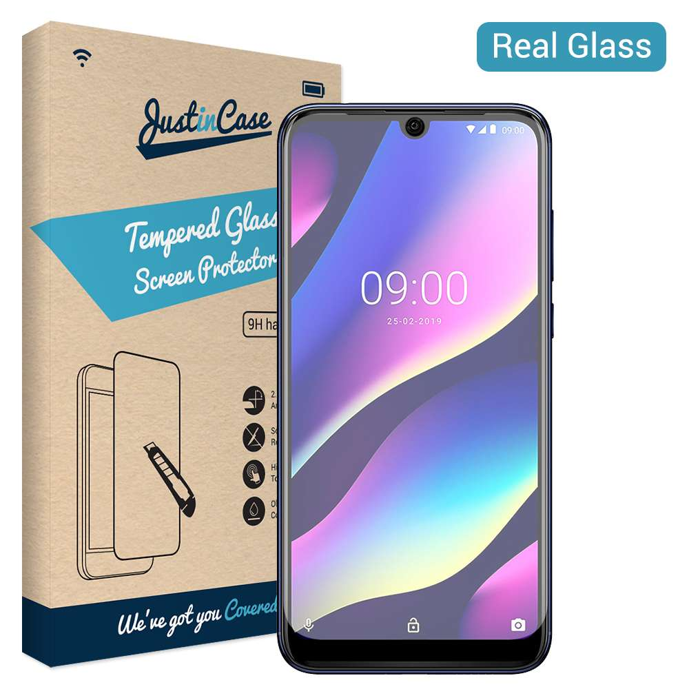 Just in Case Tempered Glass Wiko View 3