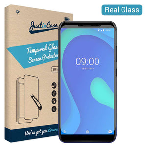 Just in Case Tempered Glass Wiko Y80