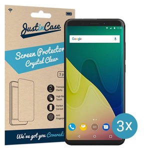 Just in Case Screen Protector Wiko View XL (3 pack)