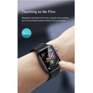 Baseus Full Cover Film Protector Apple Watch 38mm (Black)