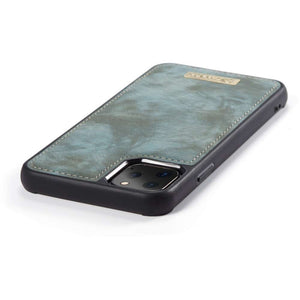 CASEME Apple iPhone 11 Pro Vintage Wallet - Blue