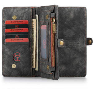 CASEME Apple iPhone 11 Pro Vintage Wallet - Black