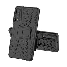 Load image into Gallery viewer, Just in Case Rugged Hybrid Samsung Galaxy A7 2018 Case (Black)
