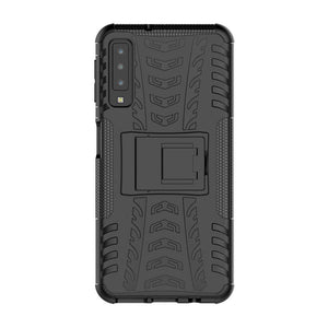 Just in Case Rugged Hybrid Samsung Galaxy A7 2018 Case (Black)