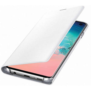 Samsung Galaxy S10 LED View Cover (White) - EF-NG973PW