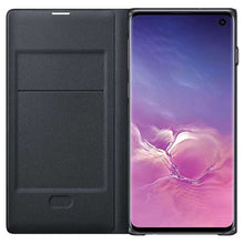 Load image into Gallery viewer, Samsung Galaxy S10 LED View Cover (Black) - EF-NG973PB
