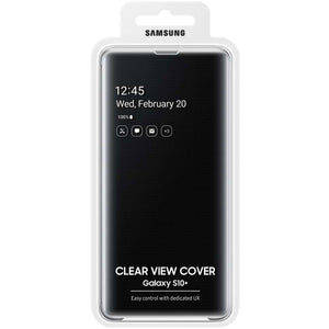 Samsung Galaxy S10 Plus Clear View Cover (Black) - EF-ZG975CB