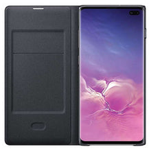 Load image into Gallery viewer, Samsung Galaxy S10 Plus Led View Cover (Black) - EF-NG975PB