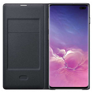 Samsung Galaxy S10 Plus Led View Cover (Black) - EF-NG975PB