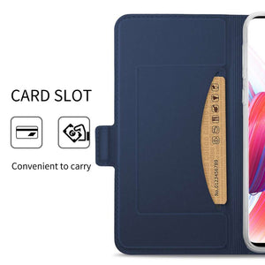 Just in Case Samsung Galaxy S10 Plus Wallet Case Slimline - Blue