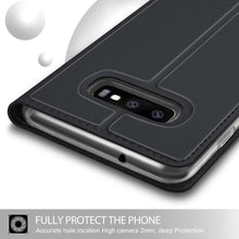 Load image into Gallery viewer, Just in Case Samsung Galaxy S10 Plus Wallet Case Slimline - Black