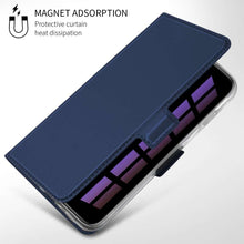 Load image into Gallery viewer, Just in Case Samsung Galaxy S10 Wallet Case Slimline - Blue