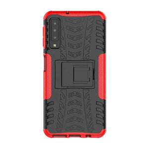 Just in Case Rugged Hybrid Samsung Galaxy S10e Case (Red)