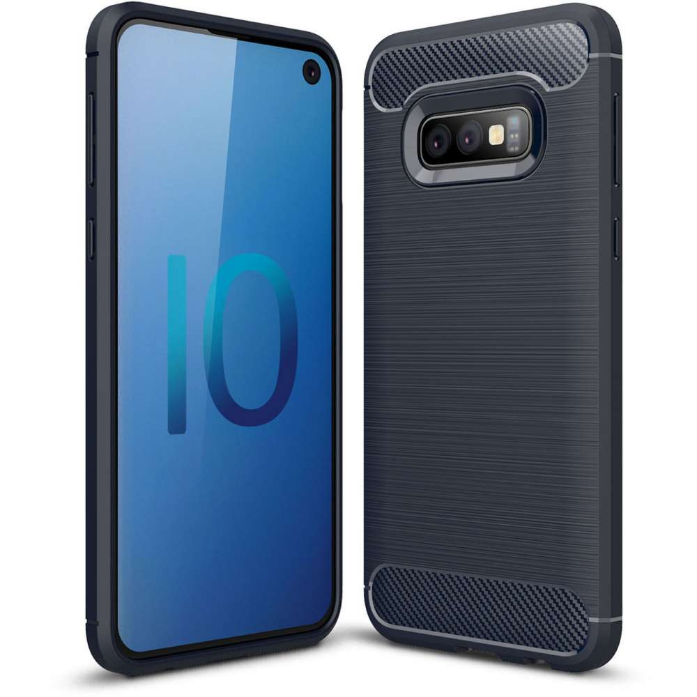 Just in Case Rugged TPU Samsung Galaxy S10e Case (Blue)